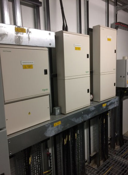 Installation of 3 phase consumer units